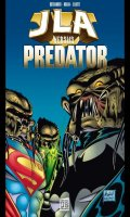 Justice League of America vs Predator