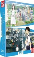 Bundle La traversée du temps + Summer wars - blu-ray