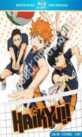 Haikyu !! - les as du volley ball - saison 1 - intégrale - blu-ray - édition saphir