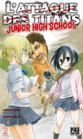 L'attaque des titans - junior high school T.2