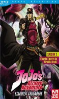 Jojo's bizarre adventure - saison 2 - Vol.1 - blu-ray