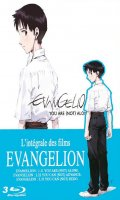 Evangelion - You can (not) redo - pack 3 films - blu-ray